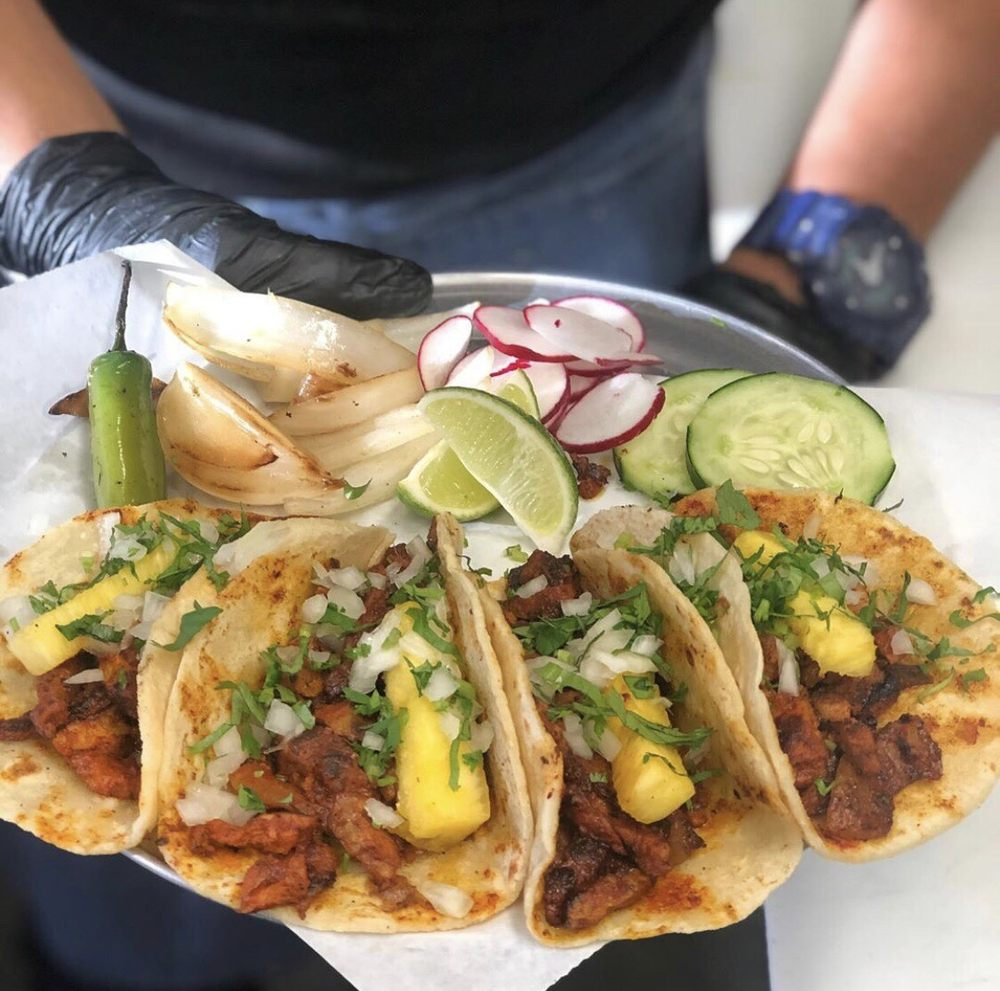 Food from Gym Tacos