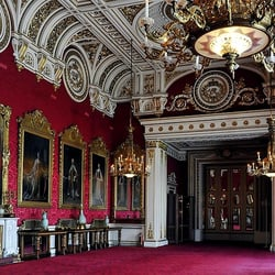 Photo Of The State Rooms At Buckingham Palace London United Kingdom