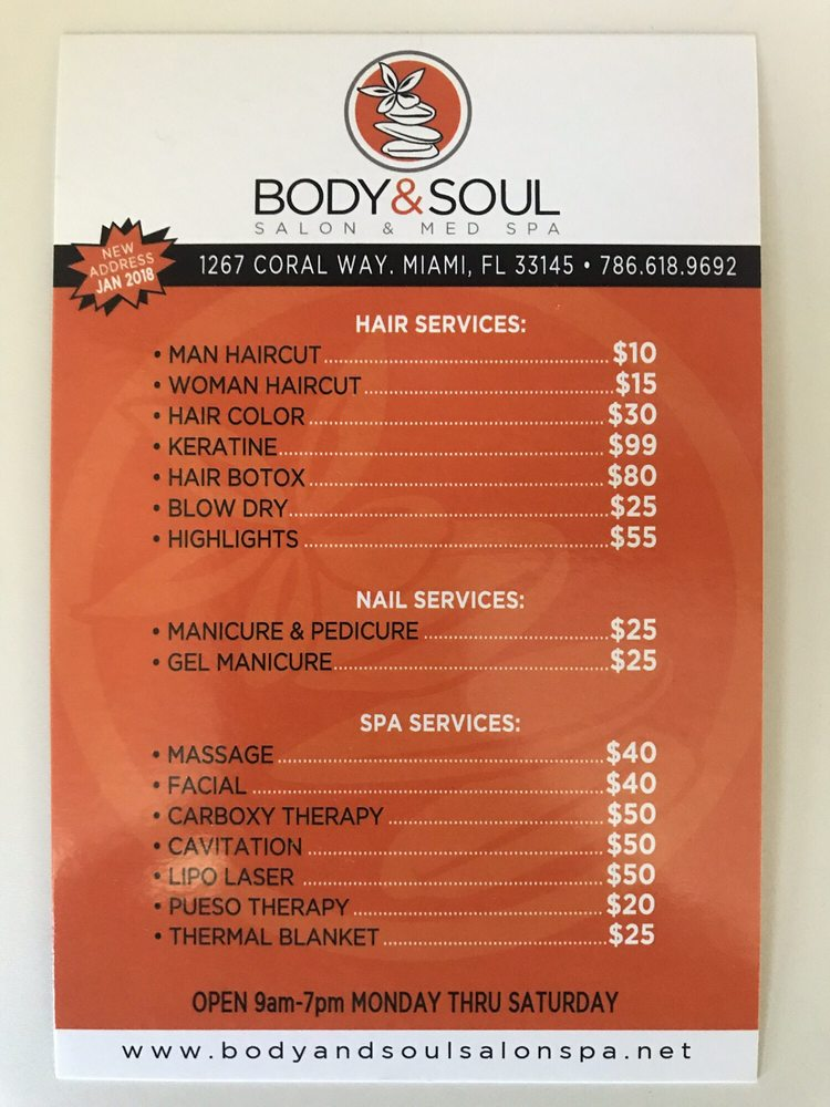 Body & Soul Salon & Med Spa