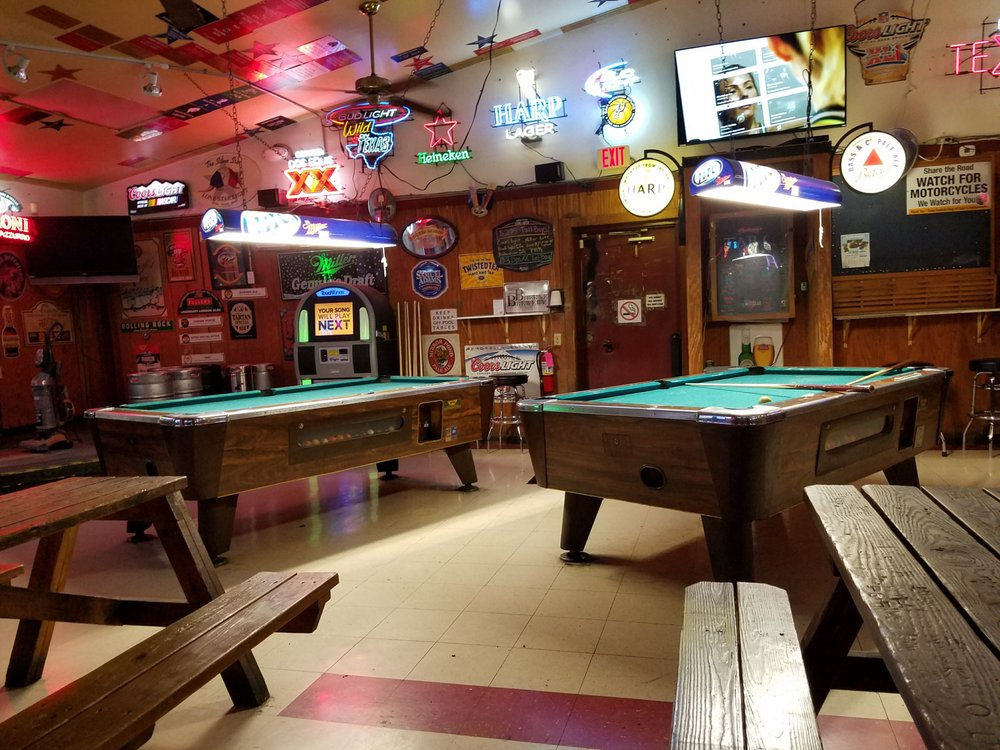 Two Coin Op Pool Tables In This Place Yelp - United billiards pool table coin operated