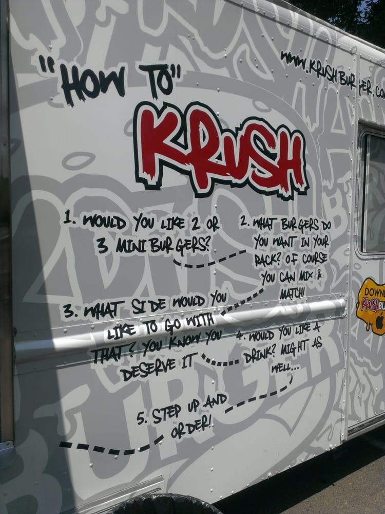 Photo of Krush Burger: Rancho Cordova, CA