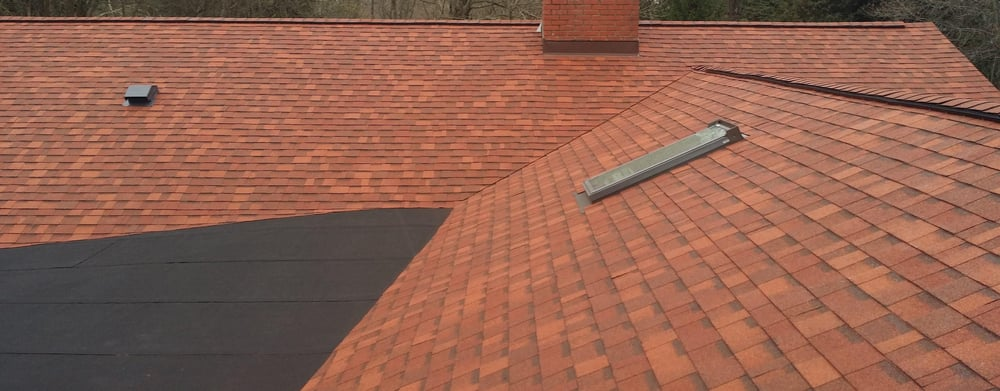 Owens Corning Terracotta Shingles Onyx Rolled Roof And