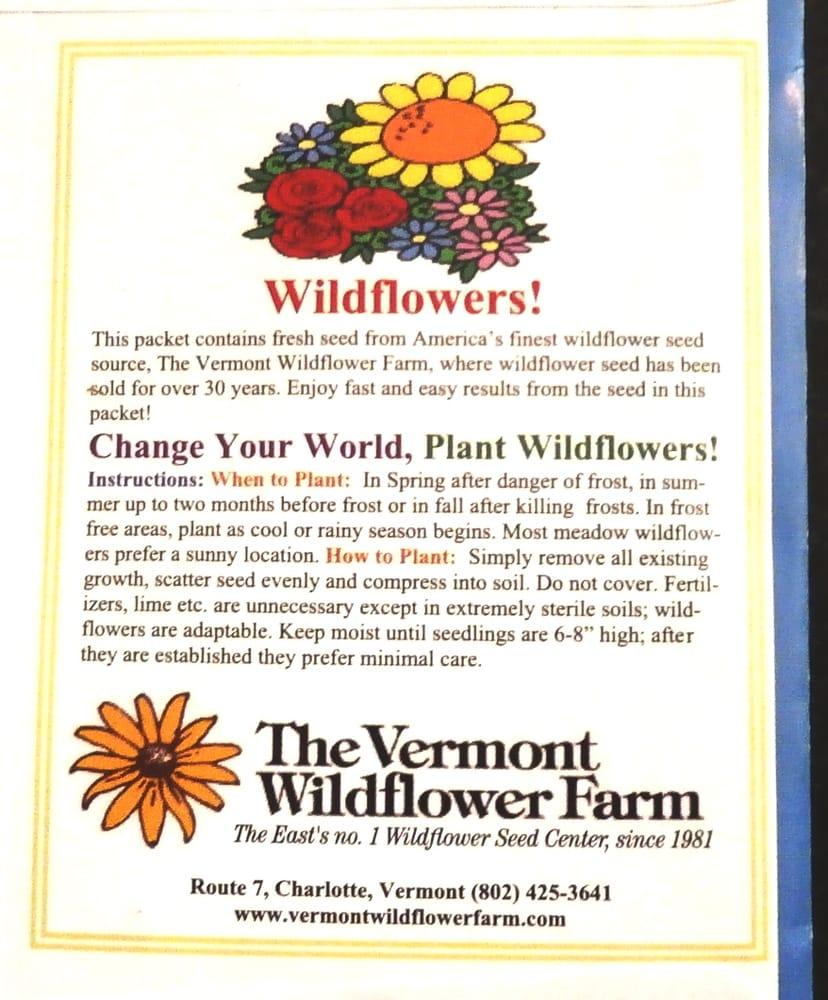 Vermont Wildflower Farm: 90 Mechanicsville Rd, HINESBURG, VT