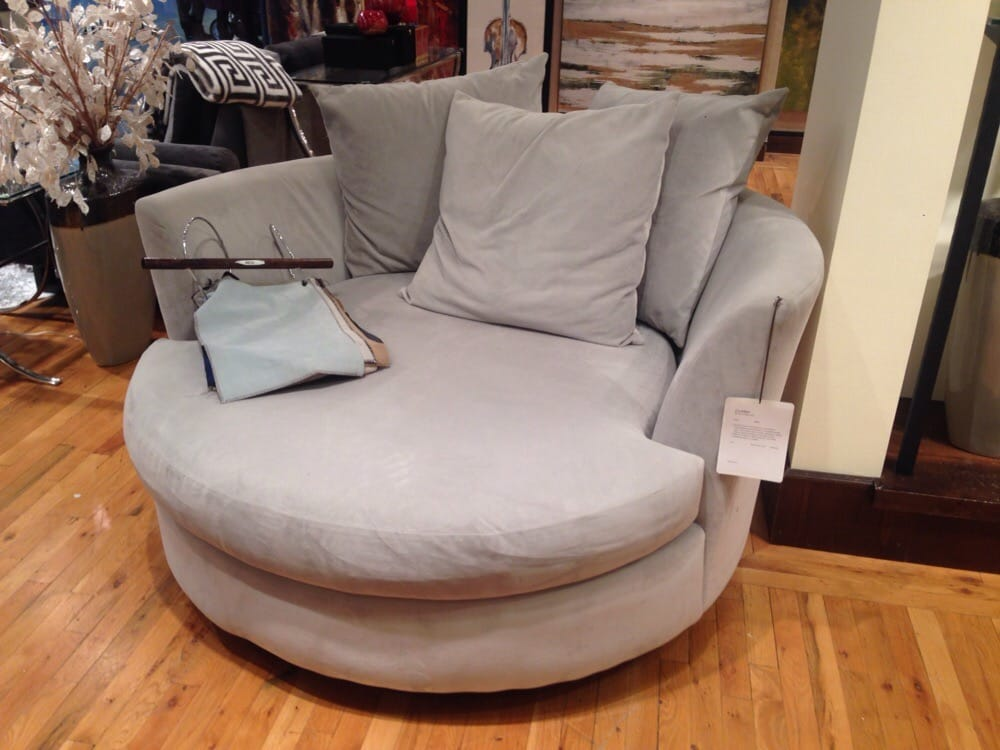 The Quot Cuddler Quot Chair Comes In A Variety Of Colors Fabrics