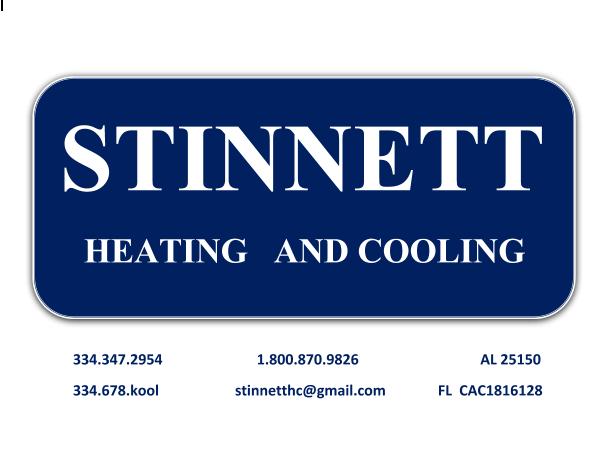 Stinnett Heating & Cooling: 301 E Grubbs St, Enterprise, AL