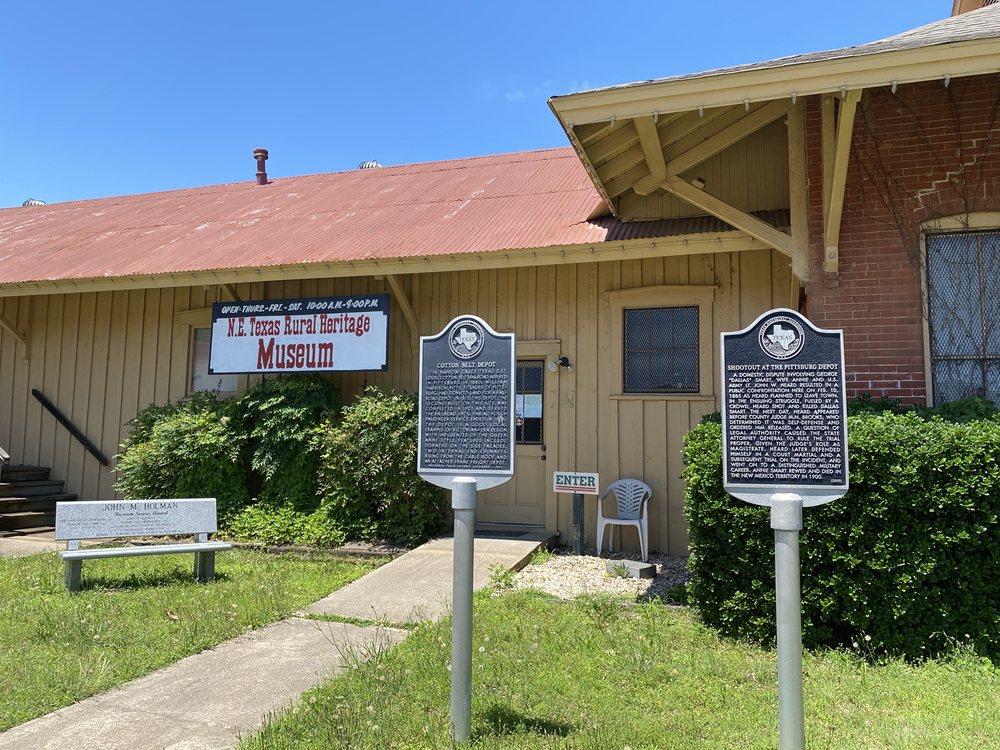 Northeast Texas Rural Heritage Farmstead Museum: 206 Mount Pleasant St, Pittsburg, TX