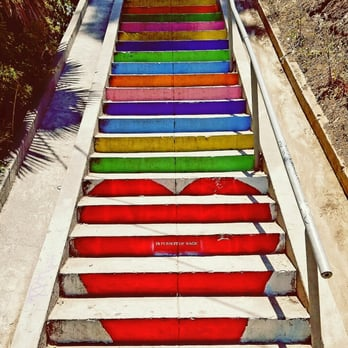 Photo De Micheltorena Stairs   Los Angeles, CA, États Unis