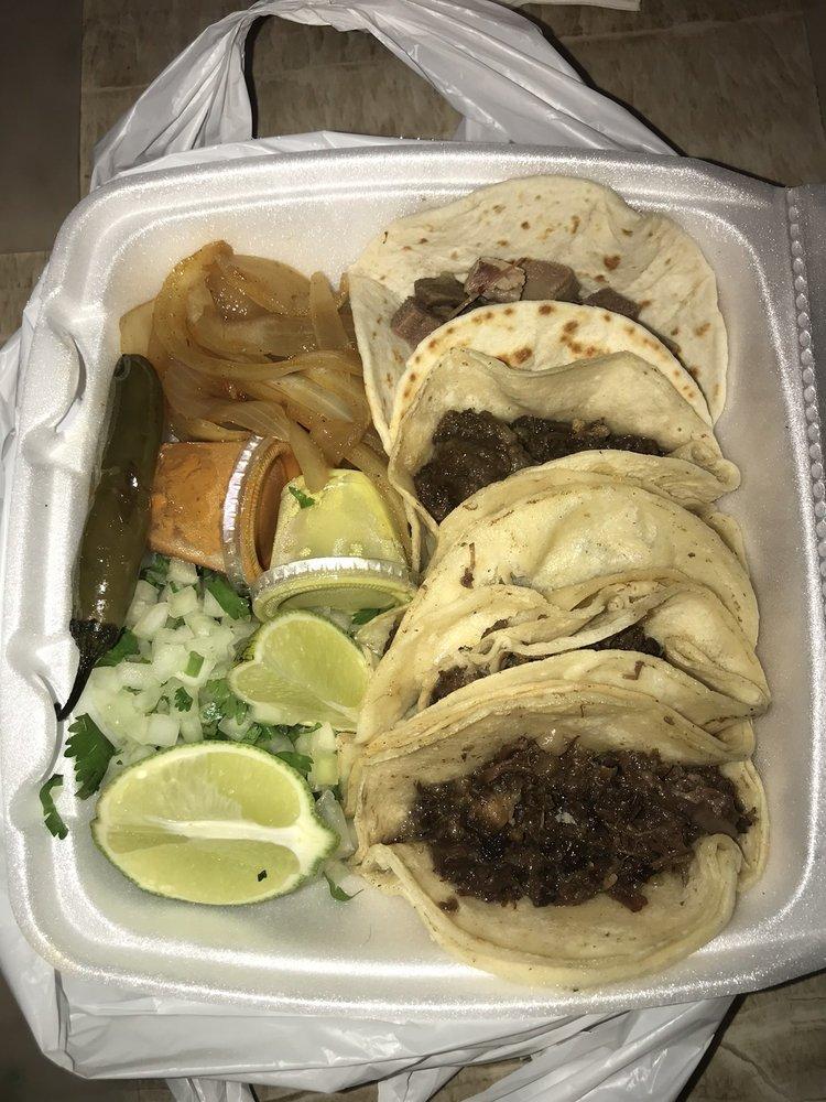 Taco Palacio inside Kwik Mart: 1201 N Little School Rd, Arlington, TX