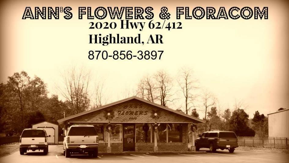 Ann's Flowers & Gifts: 2020 Hwy 62, Highland, AR