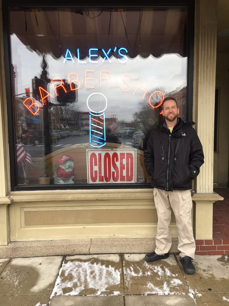 Alex's Barber: 102 S Main St, Crown Point, IN