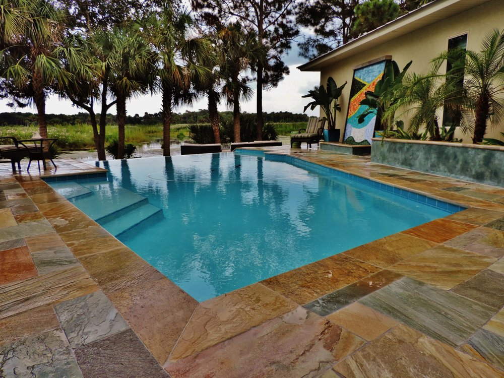 Photos for kerry martin pool builders yelp for Pool builders jacksonville
