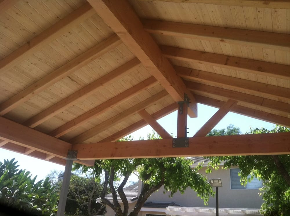Exposed Beam Patio Cover Yelp