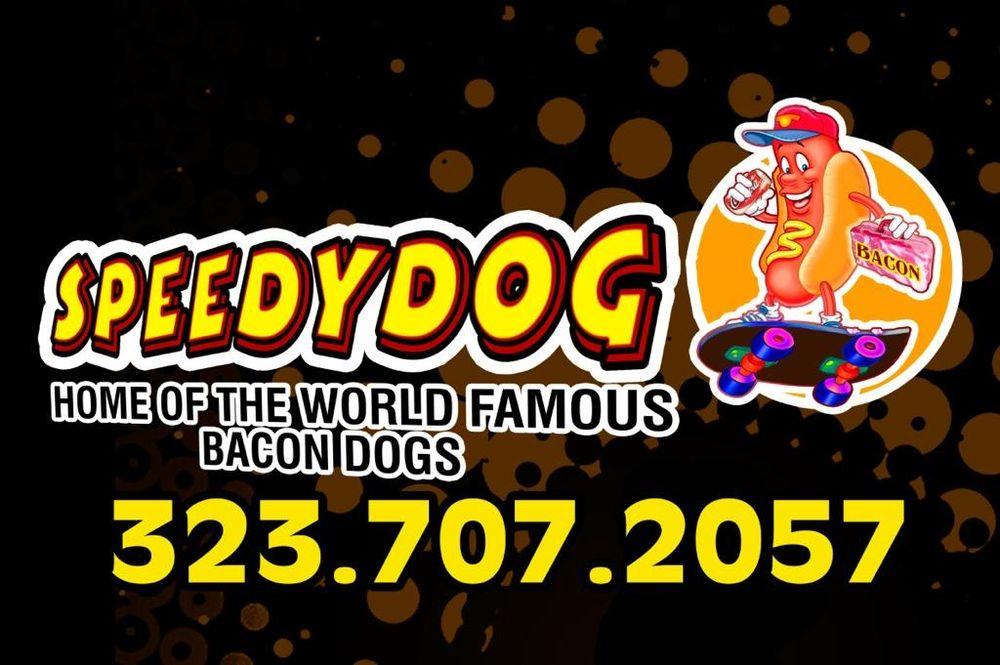 Speedydog Bacon Hot Dogs: 123 S Figueroa St, Los Angeles, CA