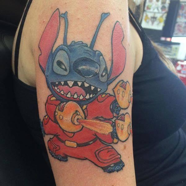 Stitch by bob knox at lucky 13 yelp for Tattoos richmond va