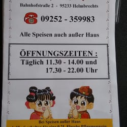 Chinese Food In Klingenthal Yelp