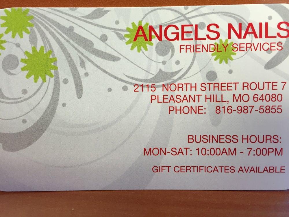 Angel Nail & Hair Salon: 2115 N State Rte 7, Pleasant Hill, MO