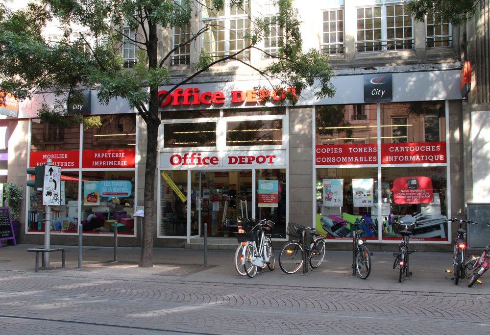 office depot kort og papirvarer 27 rue du vieux march aux vins strasbourg frankrig. Black Bedroom Furniture Sets. Home Design Ideas