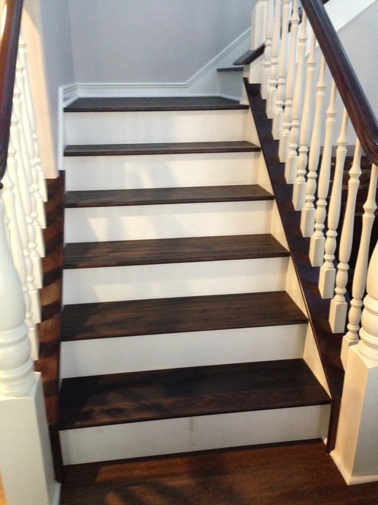 Attractive Photo Of Cooper Hardwood Floors   Fountain Valley, CA, United States.  Espresso Stair