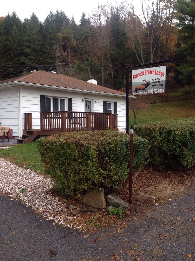Bennetts Branch Lodge: 973 River Rd, Weedville, PA