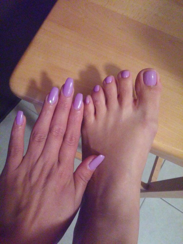 Photo Of Nails Plus Santa Ana Ca United States Coffin Ballerina