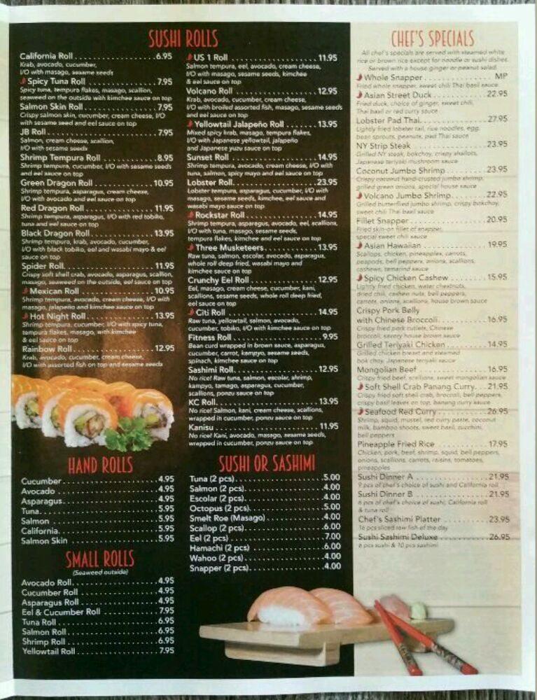 Asian Street Sushi Thai Bar North Palm Beach Fl