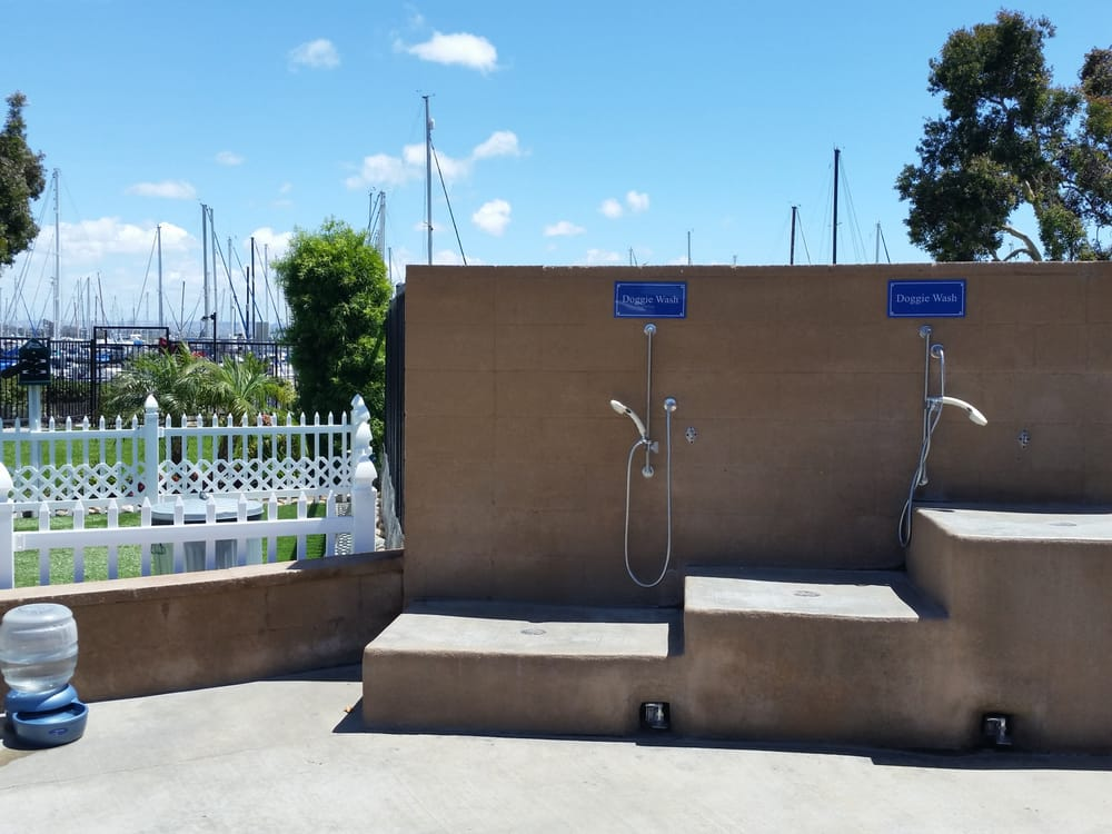 Chula Vista Rv Resort Special: Even The Dogs Have Their Own Showers.