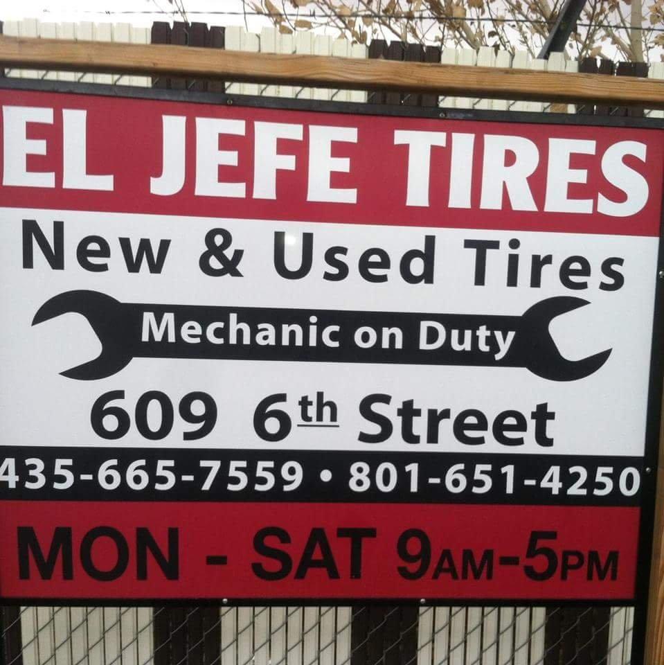 El Jefe Tires and Diesel Repair Shop: 609 6th St, Wendover, UT