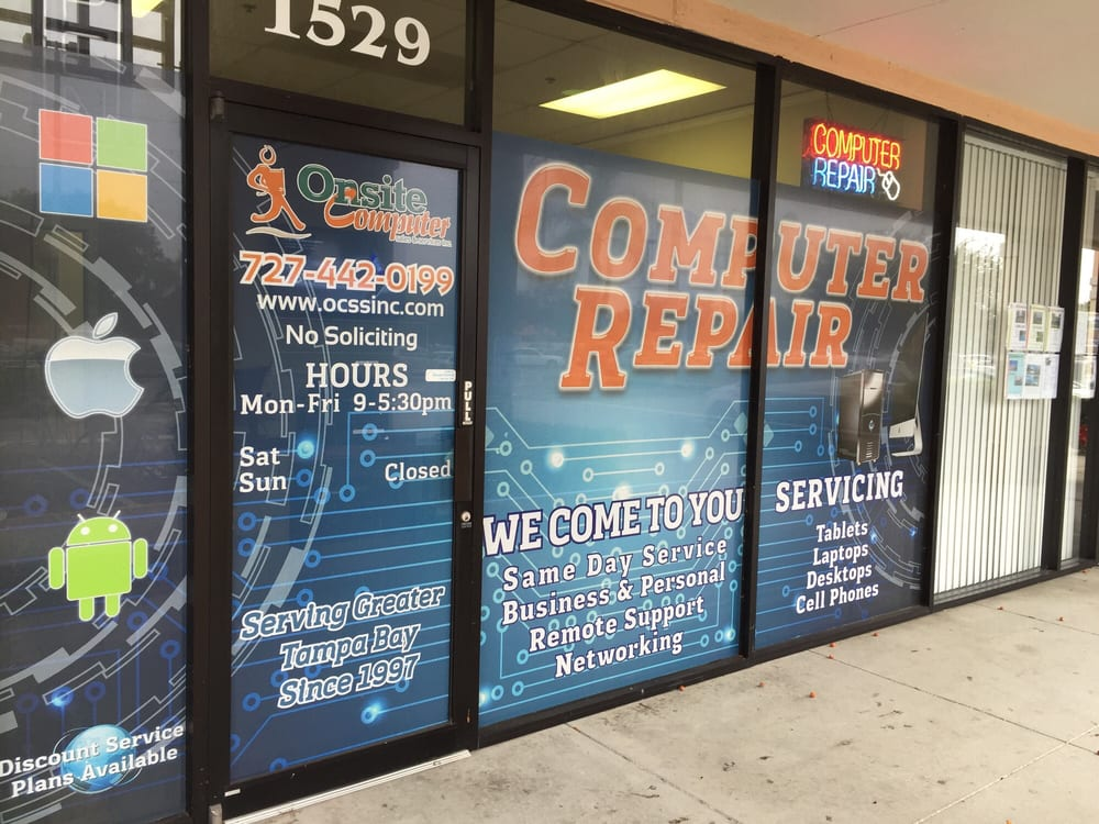 On-Site Computer Sales & Services Inc: 1529 S Highland Ave, Clearwater, FL