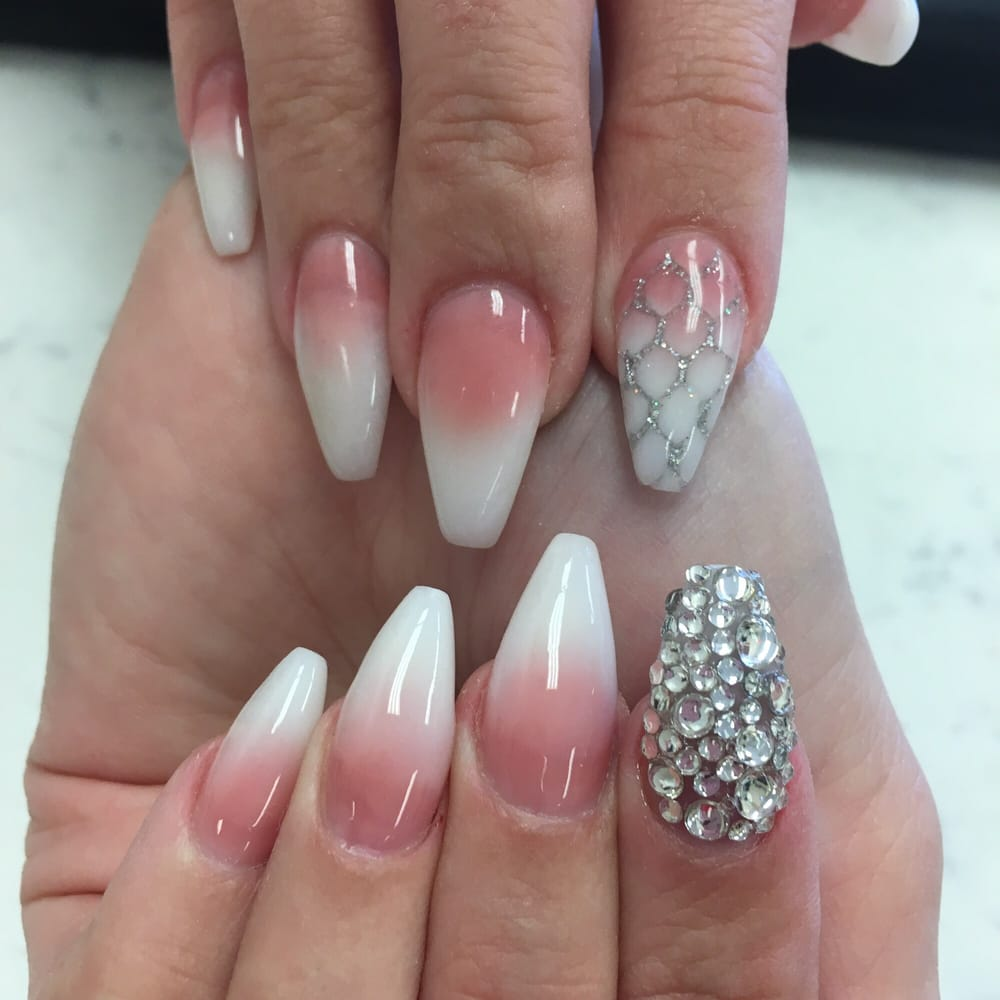 Photo Of Studio Nails Spa Houston Tx United States Ombré