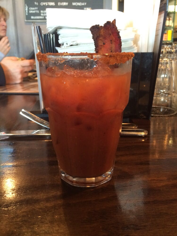 Bacon makes anything taste better including bloody marys for Ford s fish shack ashburn va