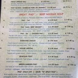 Photos for Old Saigon Pho Restaurant   Menu - Yelp