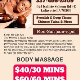 Thank asian massage lafayette la this