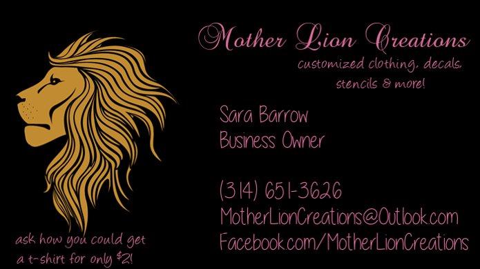 Mother Lion Creations: BRECKNRDG HLS, MO