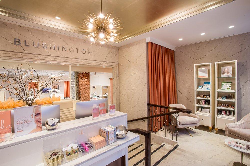 Blushington Makeup & Beauty Lounge: 1195 Lexington Ave, New York, NY