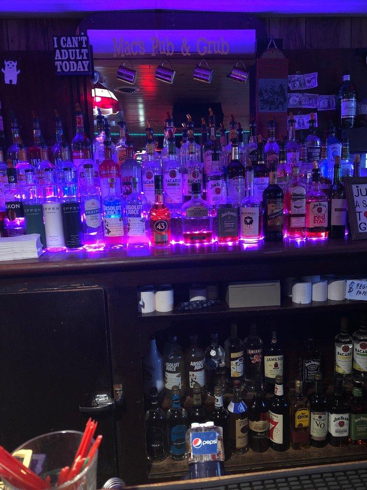Mac's Pub & Grub: 140 E Main St, Merrimac, WI