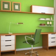 ... Photo Of Green Interior Painting   New York, NY, United States. Chelsea  ...