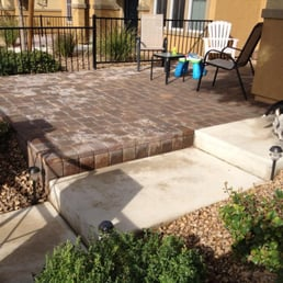 Photo Of LandTeck   Las Vegas, NV, United States. After Paver Patio Was