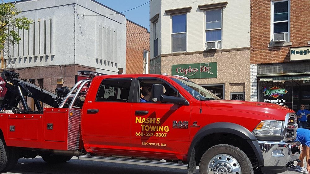 Nash's Towing: 18900 Hwy 87, Boonville, MO