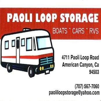 Photo Of Paoli Loop Storage American Canyon Ca United States