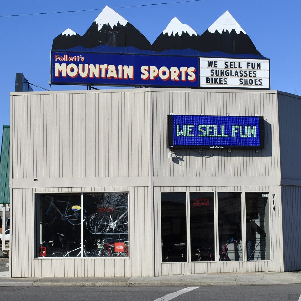 Follett's Mountain Sports: 714 D St, Lewiston, ID