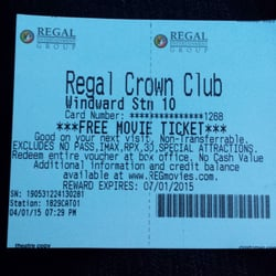 Give the gift of movies! Regal gift cards are good towards admissions and concessions. Regal Entertainment Group is the largest motion picture exhibitor in the world and includes all Regal Cinemas, Edwards Theatres and United Artists Theatres.