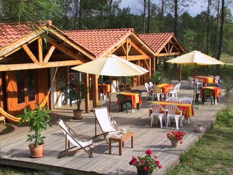 Les Palafitos: Route d'Arengosse, Luglon, 40