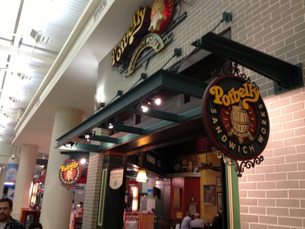 Potbelly Soup And Sandwich Restaurant At Midway Airport Yelp
