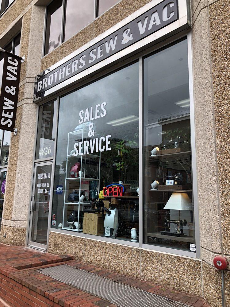 Brothers Sew & Vac: 4826 Saint Elmo Ave, Bethesda, MD