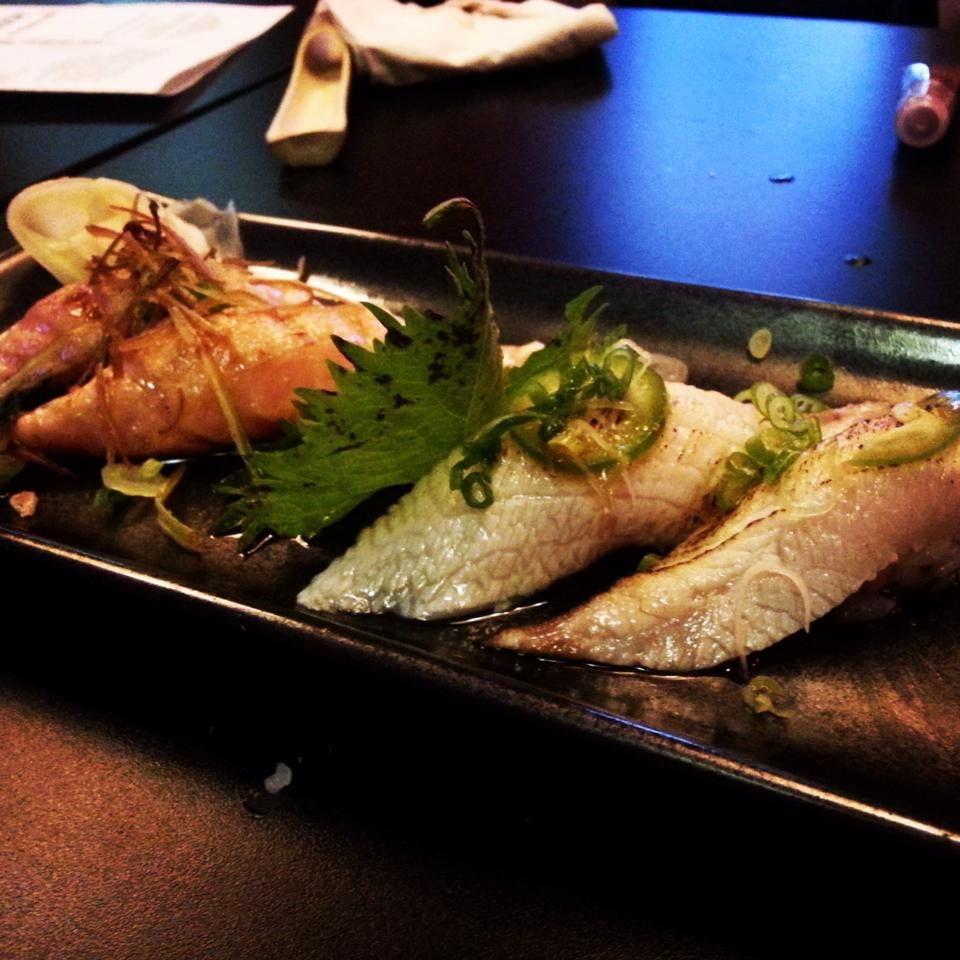 Yellowtail Belly Sushi Torched salmon ...