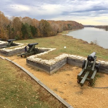 Fort Donelson National Battlefield Photos Landmarks - Ft donelson river on us map