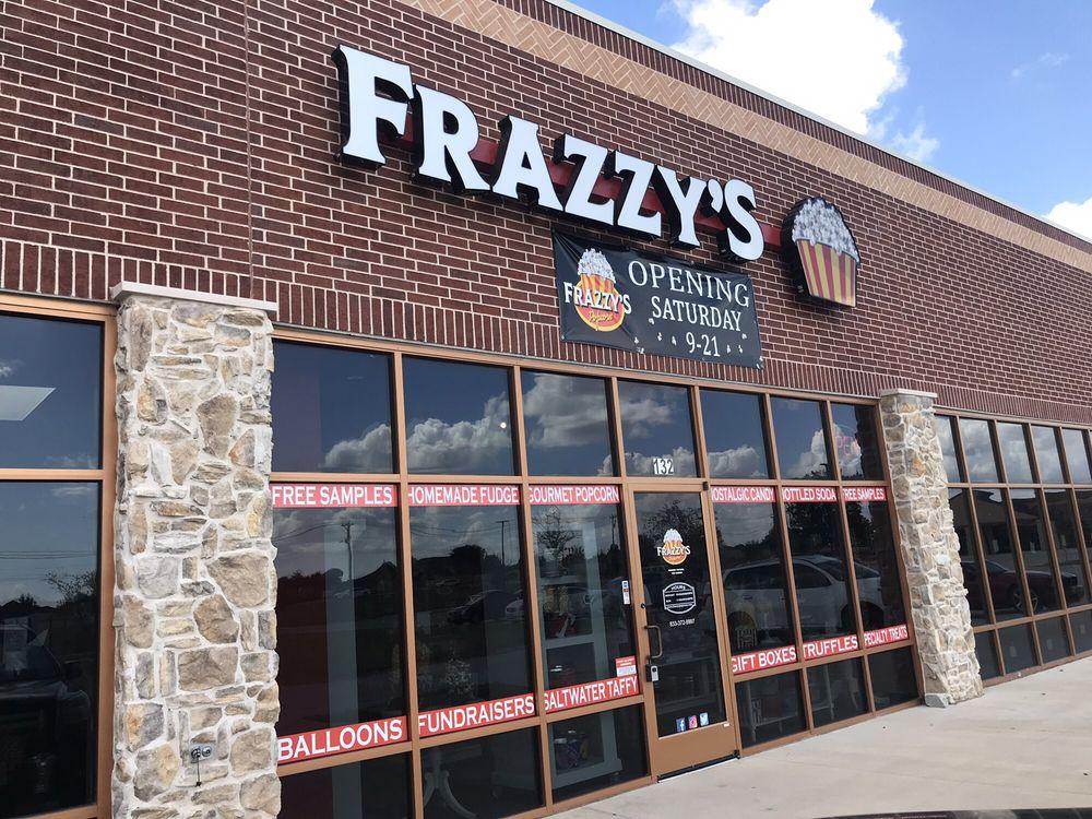Frazzy's Gourmet Popcorn: 2010 W White St, Anna, TX