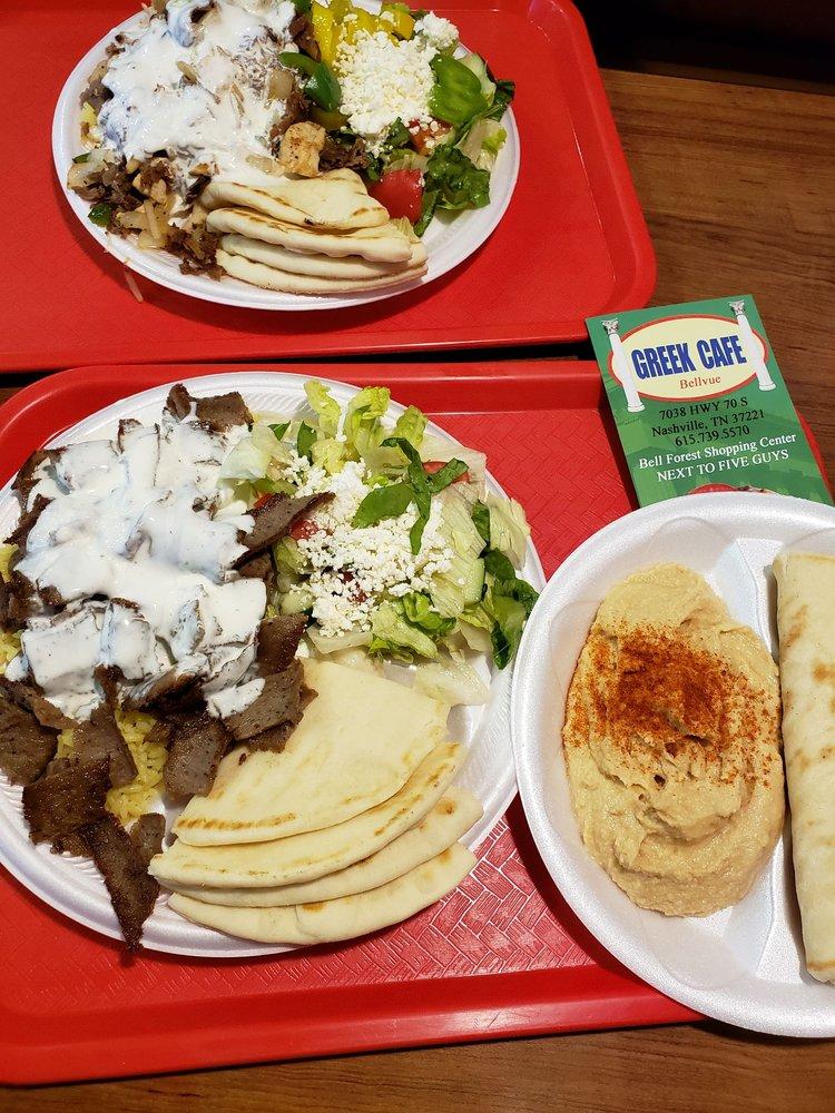 Greek Cafe Grill: 7038 Hwy 70 S, Nashville, TN