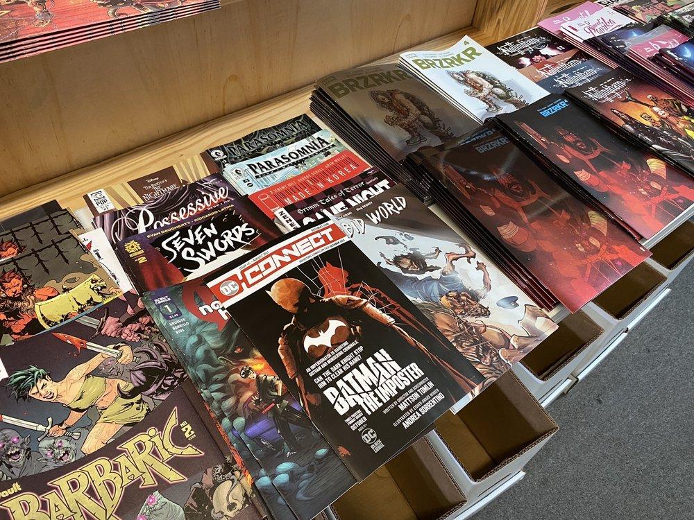 Camelot Books & Comics: 207 3rd St SW, Cullman, AL