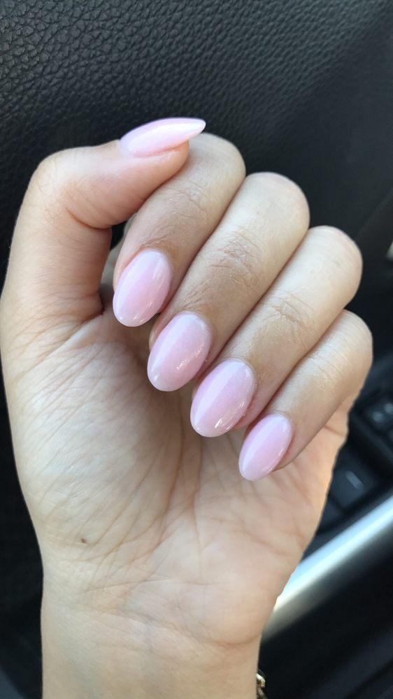Nail Powder: Yes Those Are My Natural Nails Shaped